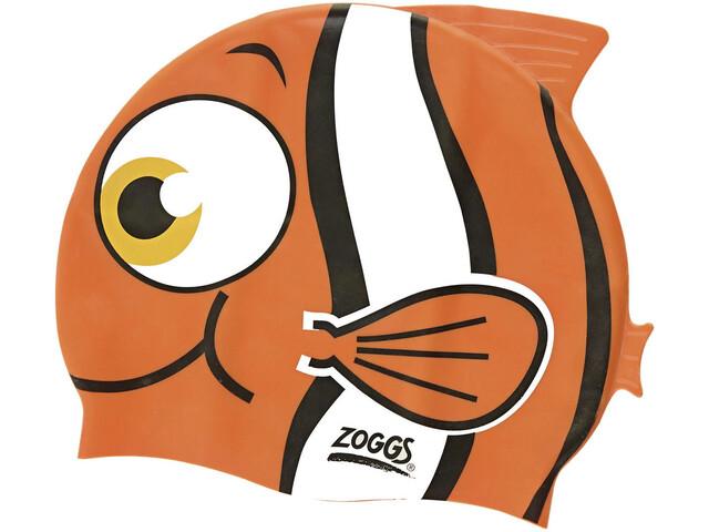 Zoggs Character Silicone Cap Kids orange
